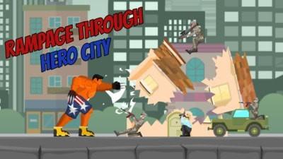城市狂暴怪物