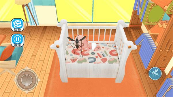 蚊子骚扰模拟器游戏下载 v1.1 安卓破解版