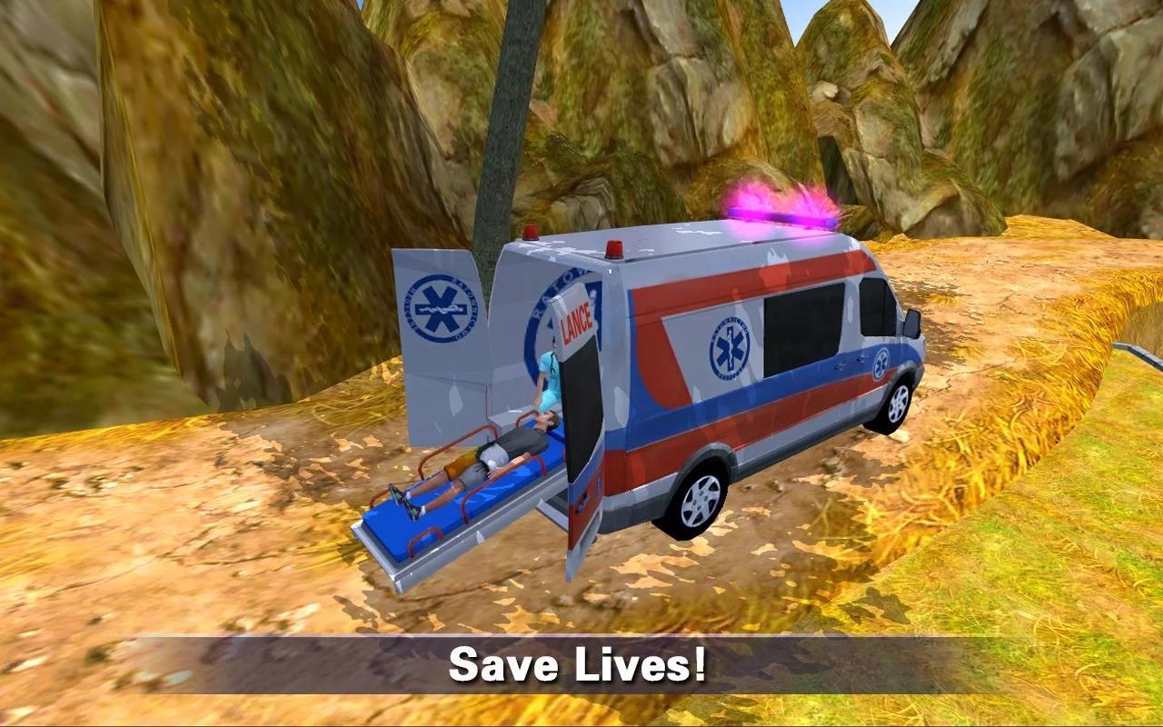 爬山救护车救援 无限金钱