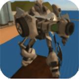 变形飞行机器人