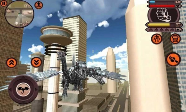 变形飞行机器人安卓版 V1.36
