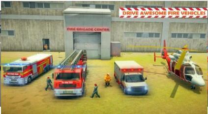 城市消防车救援模拟安卓版 V1.0