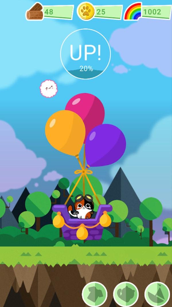 猫咪的热气球安卓版 V0.14
