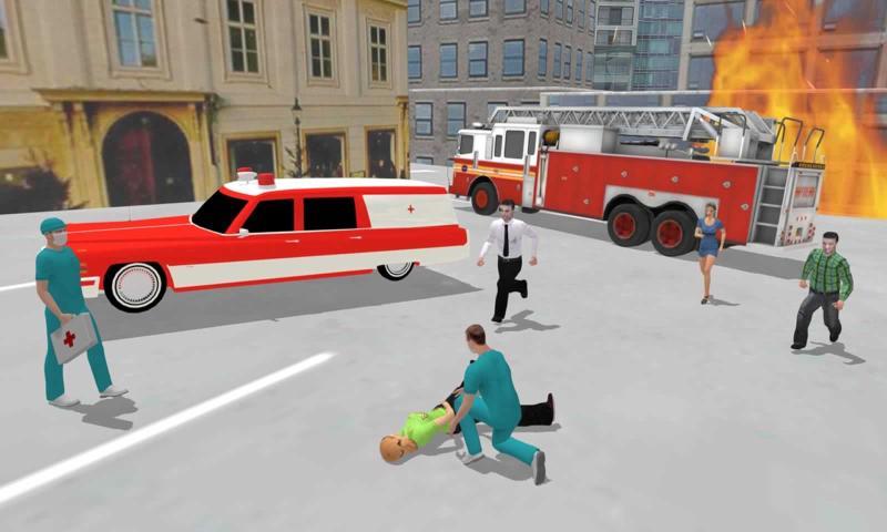 救护车医生驾驶无限金币版