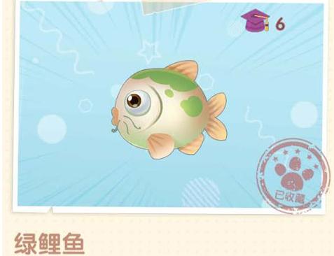 《摩尔庄园》在哪里可以钓到绿鲤鱼 绿鲤鱼出没时间一览